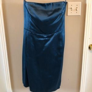 Stunning blue cocktail dress (with pockets!)